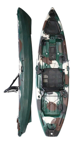 Kayak Hidro2eko Mako 110 Std Camu Verde- Kayaks Feelfree