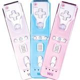 Wii Remote Grip Y Kit De Placa Frontal