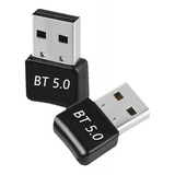 Mini Adaptador Usb  Bluetooth 5.0 Transmisor Receptor Pc