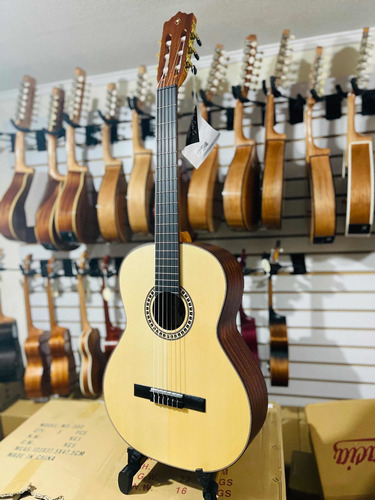 Guitarra Clásica Palmer Española Cuerda Nylon +funda+uñeta