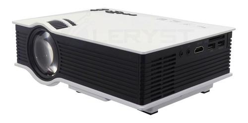 Mini Projetor Led Portátil Uc 68 Wifi 1800 Lumens Data Show