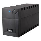 Ups Trv Electronics Neo 850 850va Entrada Y Salida De 220v Negro
