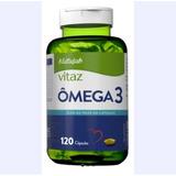Omega 3 1000mg 120 Cáps Aceite De Pescado