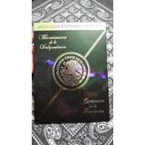Album Coleccionador Monedas 5 Pesos Revolucion Independencia