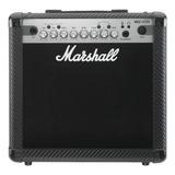 Amplificador Marshall Mg Carbon Fibre Mg15cfx Combo Transistor 15w Negro 220v