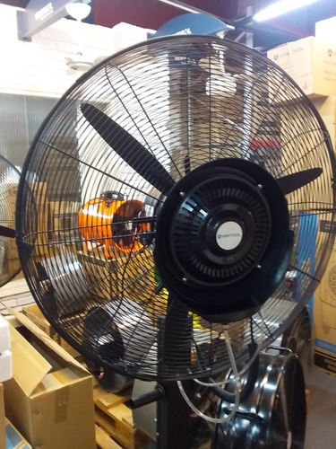 Ventilador Humificador/pulverizador De Rocio Agua Industrial