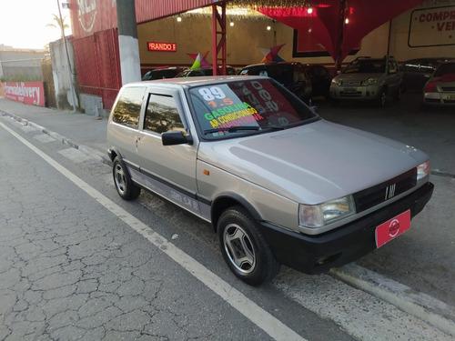 FIAT UNO 1989 1.5 R GASOLINA, VIDRO ELÉTRICO, AR CONDICIONAD
