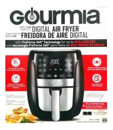 Freidora De Aire Digital 5.7litros Gourmia Modelo Gaf698