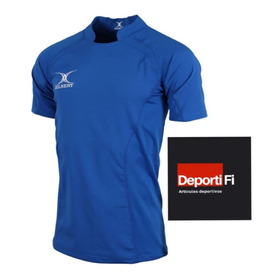 Remera Gilbert Rugby V Match Royal Talle L Al 2xl #deportifi