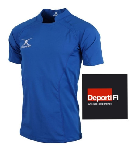 Remera Gilbert Rugby V Match Royal Talle L Al 2xl #deportifi