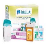 01 Kit Depilação Cera Sistema Roll-on Depil Bella