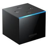 Amazon Fire Tv Cube 2nd Generation  De Voz 4k 16gb  Negro Con 2gb De Memoria Ram