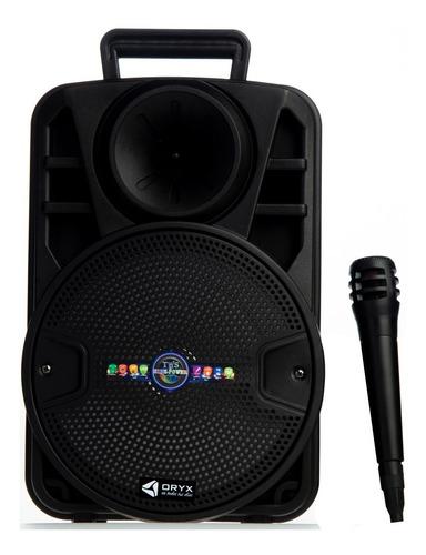 Parlante Recargable Usb Sd Bluetooth Karaoke