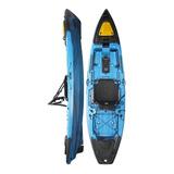 Kayak Hidro2eko Mako 110 Pro Azul Y Negro - Kayaks Feelfree