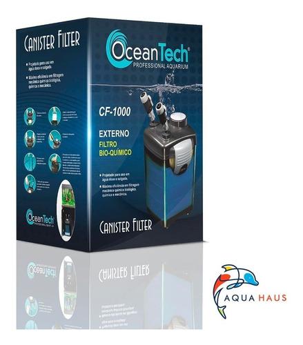 Filtro Canister Ocean Tech Cf-1000 110v C/ Mídias Filtrantes