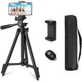 Tripode Para Celular Camera 106cm De Aluminio, 4 En 1 Iforu