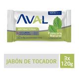 Jabón Aval Fresh 3x120g