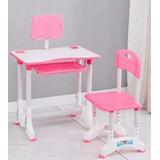 Escritorio+silla Para Niños Y Niñas.. Rosado Y Celeste