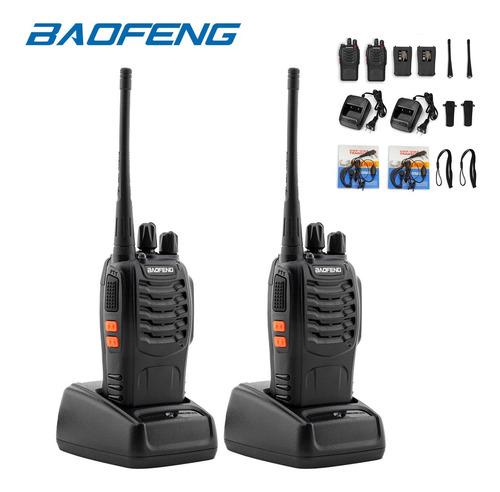 2 Radios De Comunicacion Baofeng , Walkie Talkie *tienda*