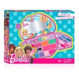 Make Up Maquillaje Infantil Desplegable Barbie Dreamtopia