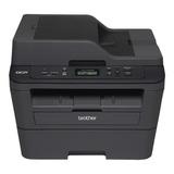 Impressora Brother Dcp-l2540dw Com Wifi Preta 110v