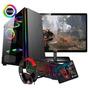 Pc Gamer Core G4560 8gb 1tb Gtx1050 Ti 4gb C/ Kit! Original