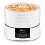 Máquina Deshidratadora De Alimentos Cosori (50 Recetas) Seca