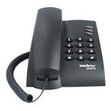 Teléfono Fijo Intelbras Pleno Negro