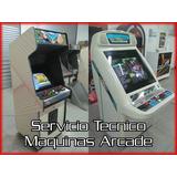 Servicio Tecnico Reparacion Video Juegos Arcade Multijuegos