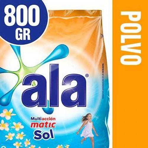 Ala Jabon En Polvo Toque Vivere Sol 800 Ml
