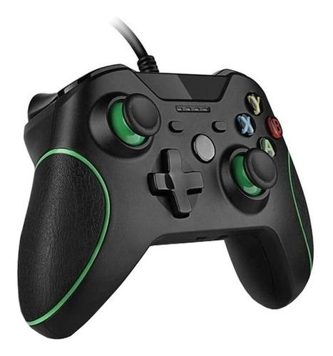 Controle Xbox 360 Com Fio Joystick Pc 2 Em 1