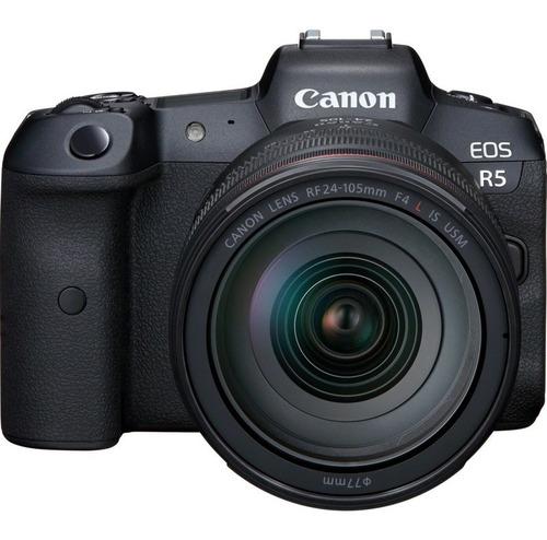 Canon, Cámara  Eos R5 Rf24-105mm F4 L Is Usm Kit