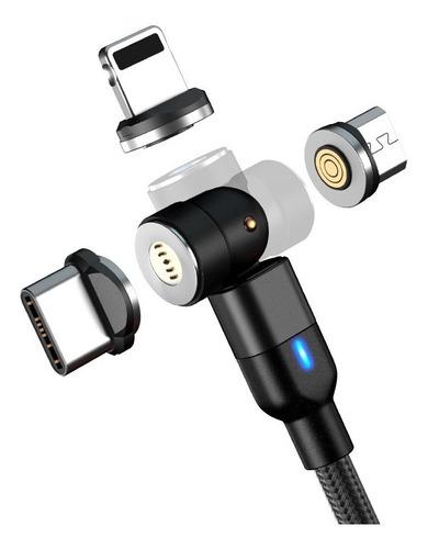 Cable Usb Magnético Rotacion 360º X 180º Datos Carga Rapida