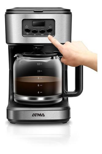 Cafetera Atma Ca8182 12t Digital Con Timer