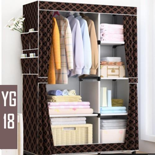 Closet Ropero Armable Tela Yg 18 /170x105x45cm Casaliving