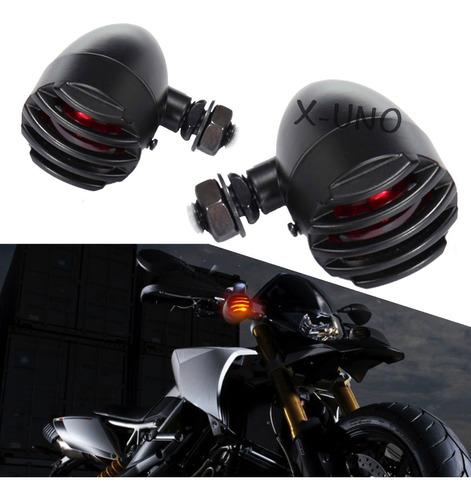 Direccionales Focos  Motocicleta Retro Harley Chopper Metal