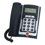 Teléfono Fijo Winco Te6070 Negro Y Gris