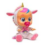 Muñeca Cry Babies Unicornio Dreamy E. Full