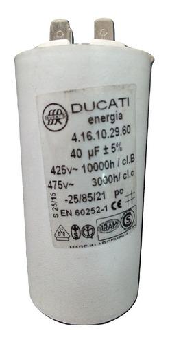 Capacitores Arranque Motores, 40, 45, 50 Y 55 Microfaradios