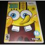 Bob Esponja Truth Or Square - 100%  - Nintendo Wii Original