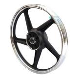 Rin Aluminio Trasero Negro 18 Italika Ft-125
