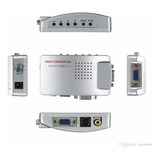 Conversor Vga A Bnc  Cctv Monitor Actv109/segtv