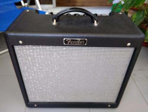 Ampli Fender Blues Junior 3 + 3 Prevalvulas Jj Electronics