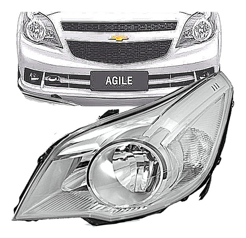 Optica Chevrolet Agile 2009 2010 2011 2012