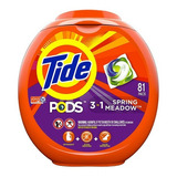 Tide Detergente Capsulas Pods  81