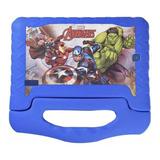 Tablet  Multilaser Disney Vingadores Plus 7  16gb Azul Com 1gb De Memória Ram