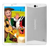 Tablet  Con Funda Gadnic Indus Phone 7 Kids Tab038ck 7  32gb Blanca Con 2gb De Memoria Ram