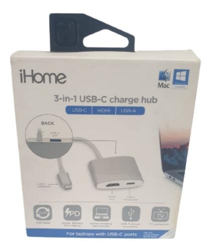 Adaptador I-home 3-en-1 Usb-c