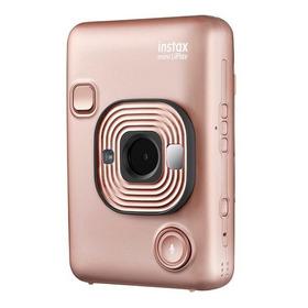 Cámara Fujifilm Instax Mini Liplay Híbrida Blush Gold