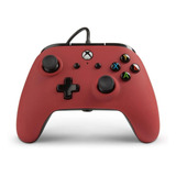 Control Joystick Acco Brands Powera Enhanced Wired Controller For Xbox One Red